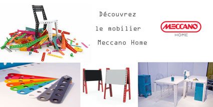 mobilier design enfant Meccano Home